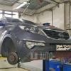 Замена подвесного подшипника Kia Sportage