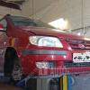 Замена пыльника и ШРУСа Hyundai Matrix