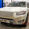 Замена рычагов Hyundai Santa Fe