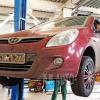 Замена тормозных колодок Hyundai I20