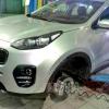 Замена тормозных колодок и дисков Kia Sportage