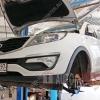 Плановое ТО Kia Sportage №12 (180 000 км)