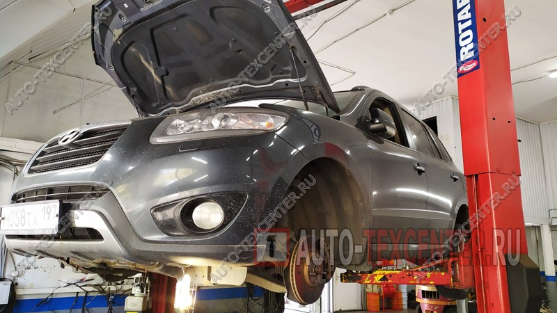 Ремонт двигателя Hyundai Santa Fe
