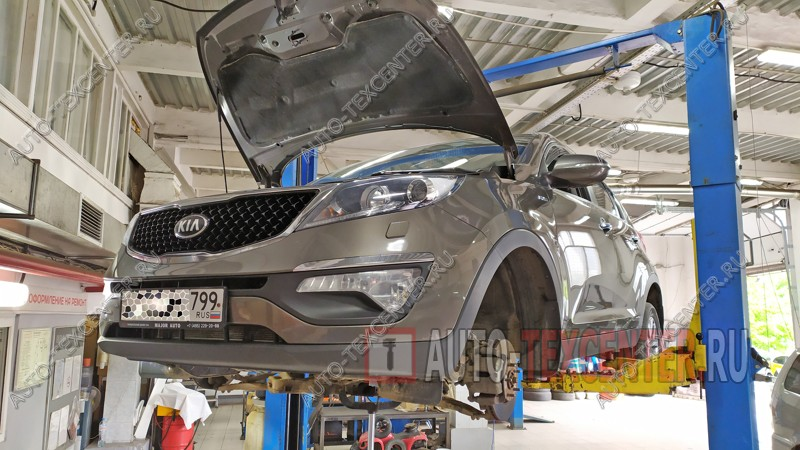 Замена и ремонт рулевой рейки Kia Sportage