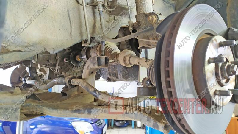 ремонт рулевой рейки Киа Спортейдж 3