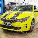 Замена масла в двигателе Kia Optima