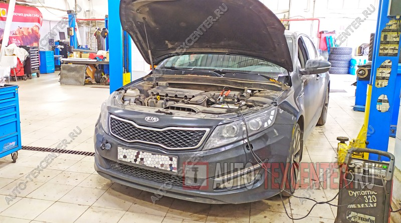 Замена и ремонт двигателя Kia Optima