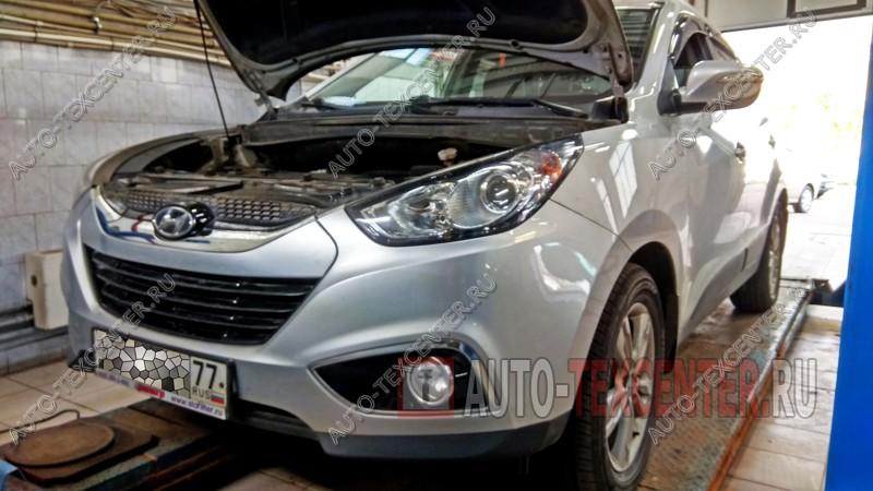 Профилактика полного привода Hyundai IX35