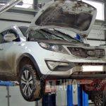 Профилактика и ремонт полного привода Kia Sportage