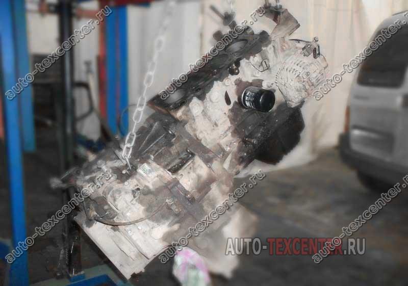замена двигателя Киа Кларус