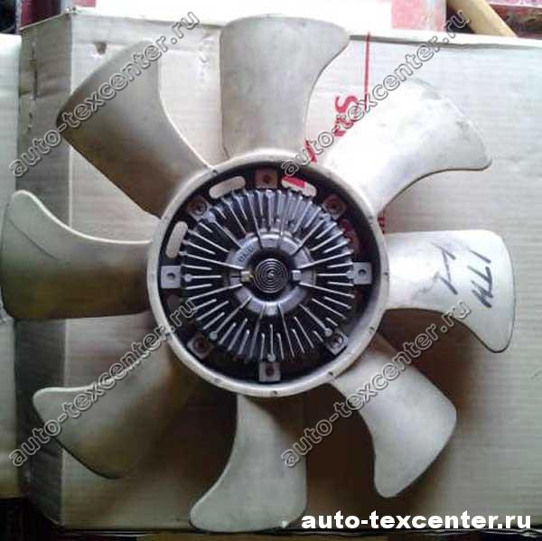 замена вентилятора охлаждения Киа Спортейдж