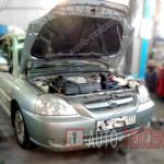 Замена компрессора кондиционера Kia Rio