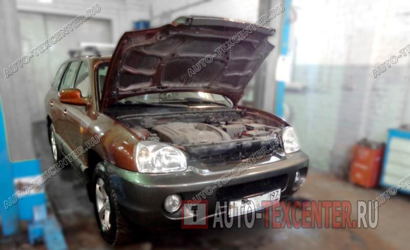 Замена подшипника ступицы Hyundai Santa Fe