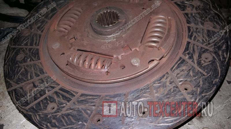 Замена сцепления Hyundai Getz (4)