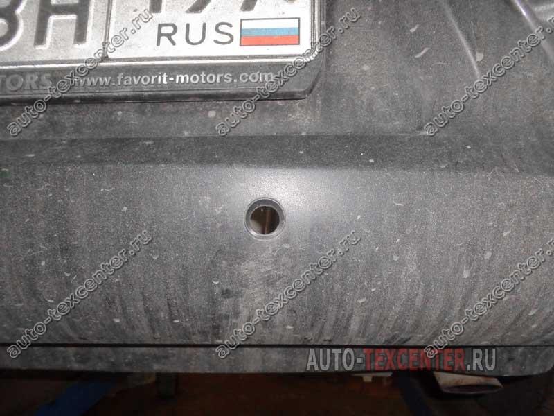 Замена датчика парктроника Kia Sportage SL (1)