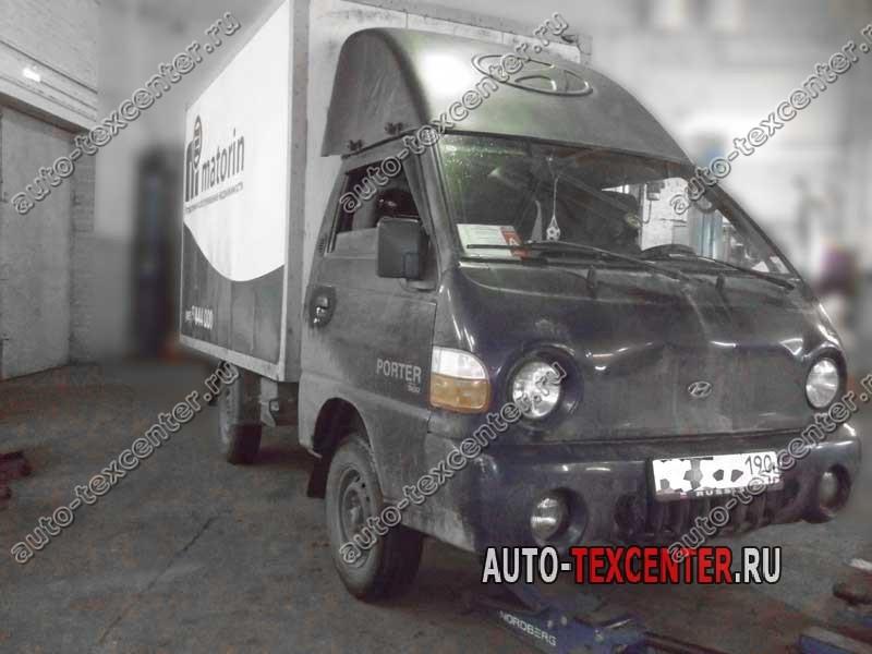 усиление рессоры Hyundai Porter