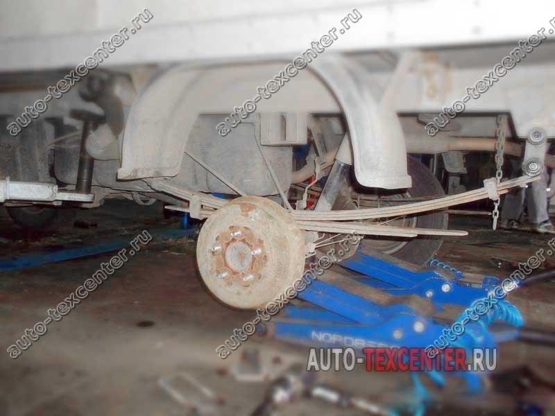 усиление рессор Hyundai Porter