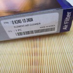 0K2A5-13Z40A — воздушный фильтр Cпектра