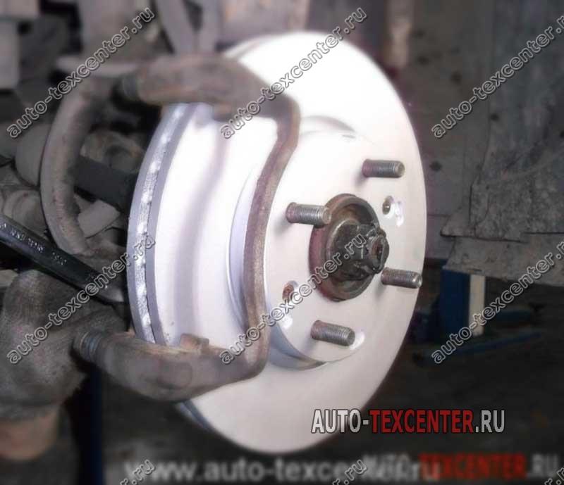 замена тормозных дисков Киа Маджентис
