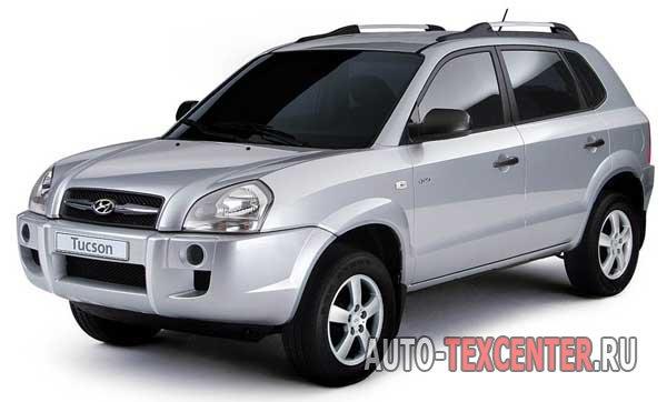 Расход топлива Hyundai Tucson (JM)