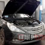 Замена масла в двигателе Hyundai Sonata