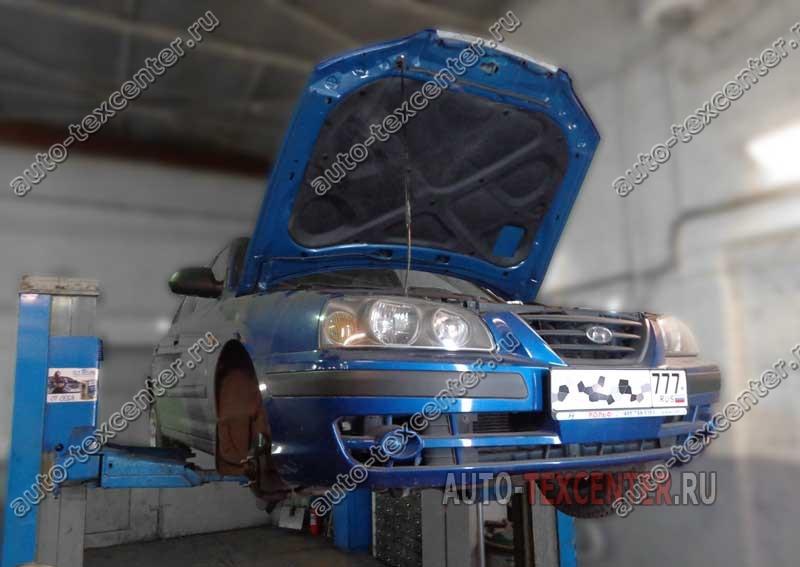Замена ремня ГРМ Hyundai Elantra XD