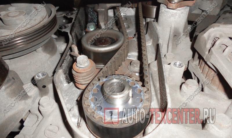 Замена ремня ГРМ Hyundai Elantra