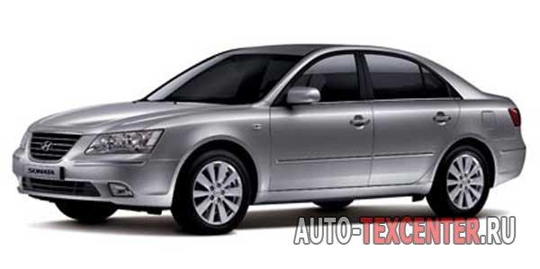 Расположение вин номера Hyundai Sonata 5 (NF)