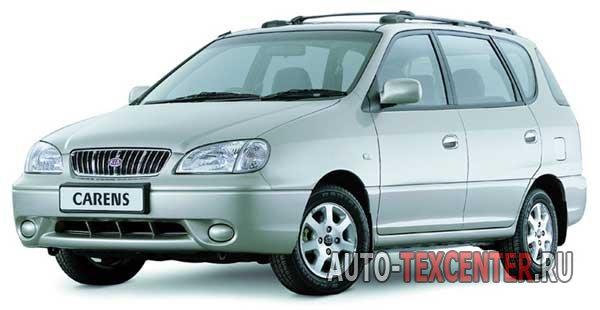 Kia Carens (FJ) расход топлива (бензин) 1,8 L (110 л.с.)
