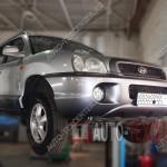 Замена буксировочного крюка Hyundai Santa Fe