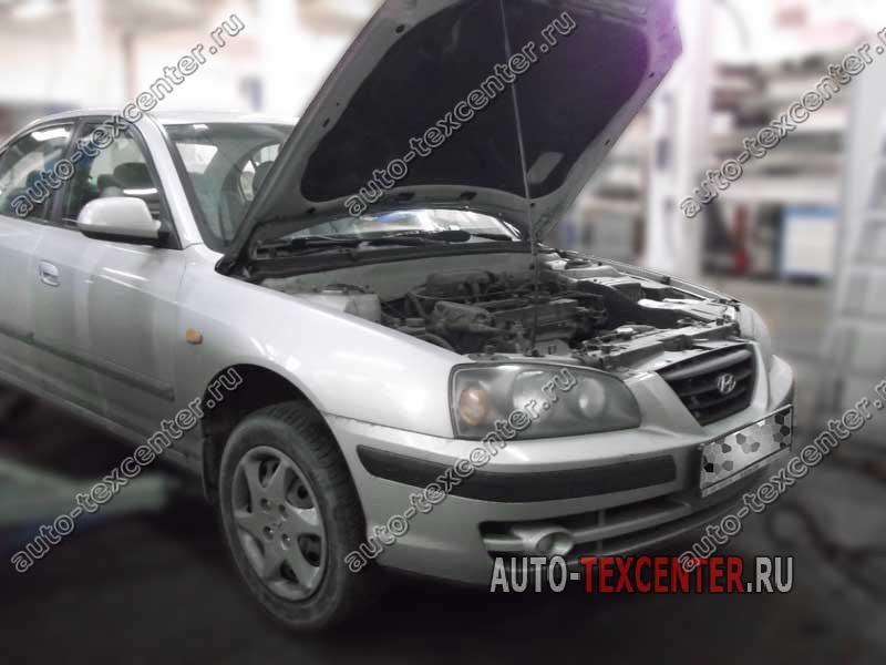 Замена приводного ремня Hyundai Elantra