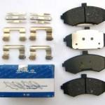 замена тормозных колодок Kia Cerato 1