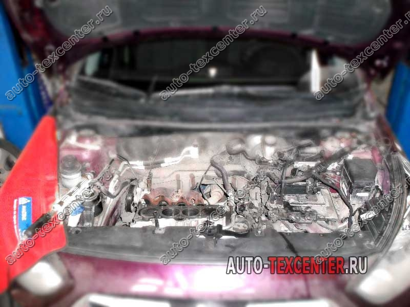 Замена прокладки ГБЦ Hyundai Elantra MD