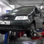 Замена тормозных колодок и дисков Hyundai Matrix