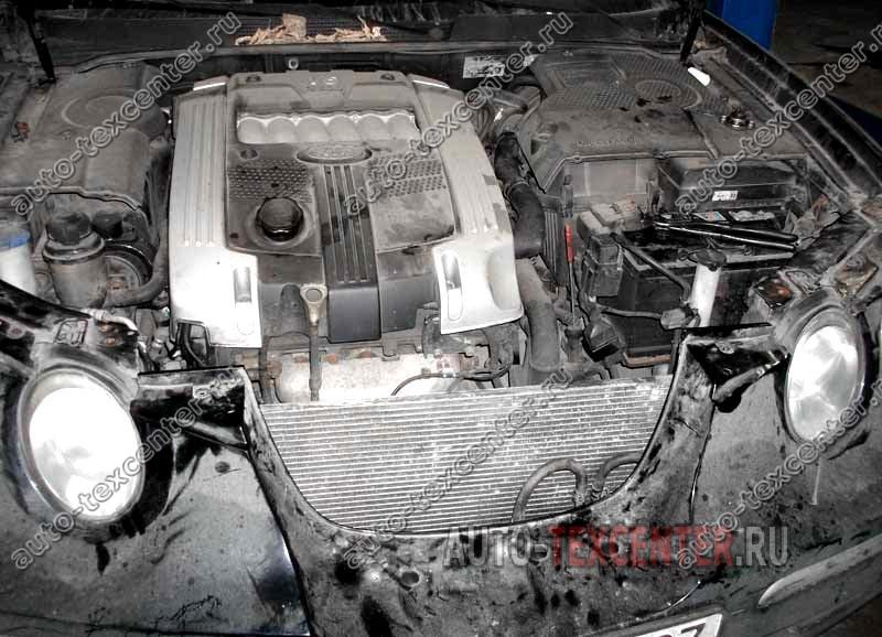 замена радиатора охлаждения Киа Опирус