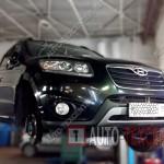 Замена шаровой опоры Hyundai Santa Fe