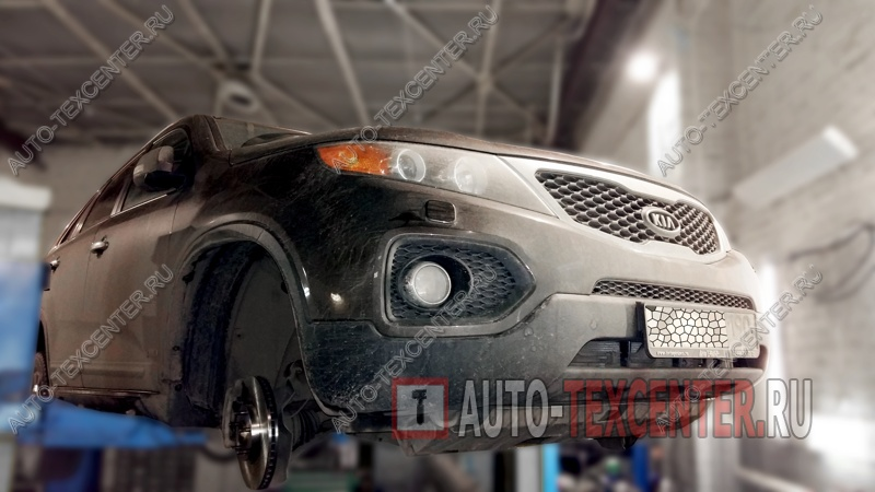 Замена тормозных дисков Kia Sorento (1)