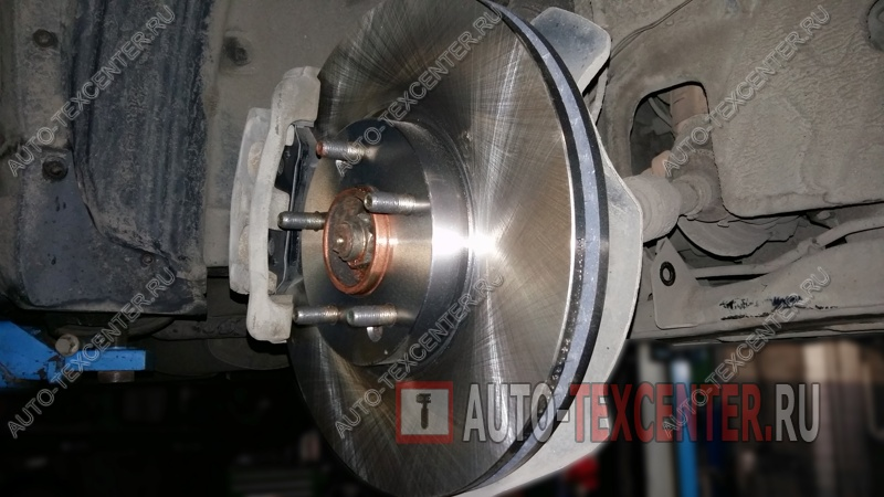 замена тормозных дисков Киа Соренто
