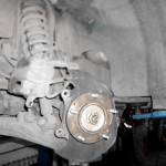 Замена тормозных дисков Kia Sorento 1
