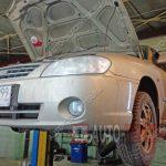 Замена тормозных колодок и дисков Kia Spectra