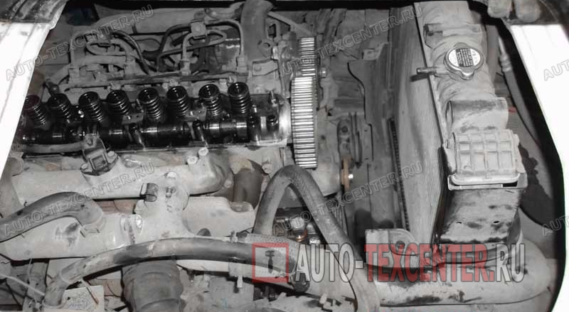 Замена и ремонт двигателя Kia Bongo