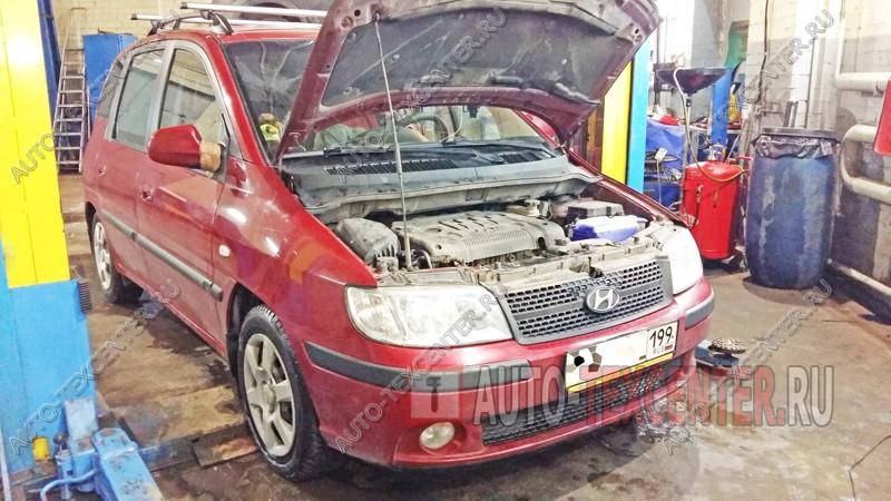 Замена ремня ГРМ Hyundai Matrix