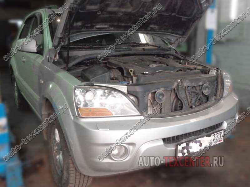 Ремонт двигателя Kia Sorento BL