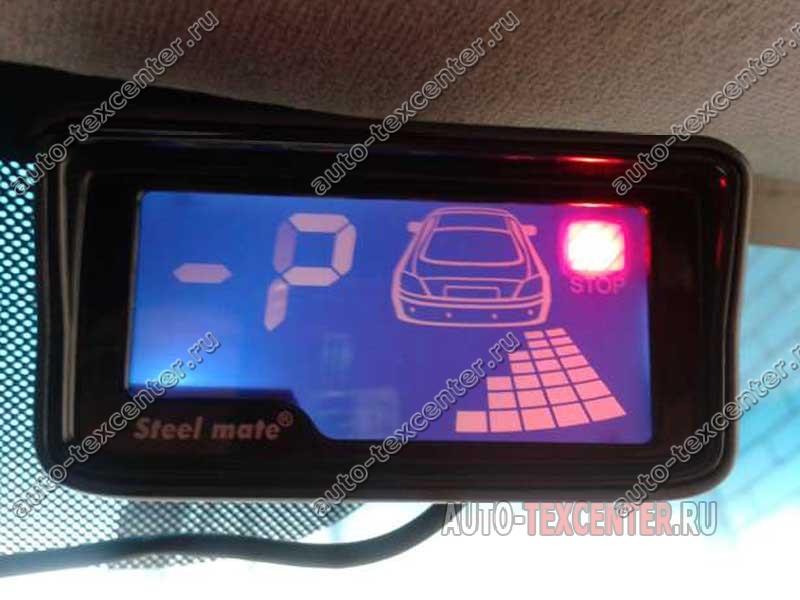 Установка парктроника на Hyundai Getz (1)