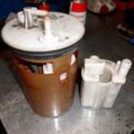Замена топливного фильтра Элантра
