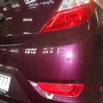 Установка парктроника Hyundai Solaris
