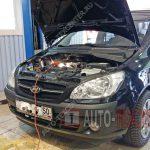 Замена масла в двигателе Hyundai Getz