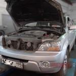 Замена датчика давления топливной системы Kia Sorento