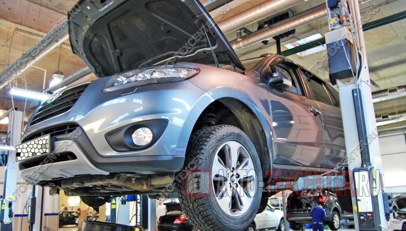 Замена сцепления Hyundai Santa Fe