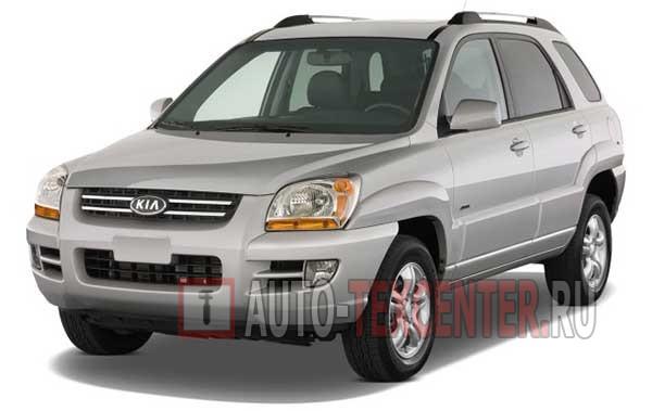 Kia Sportage (KM) расход топлива (бензин) 2,0 L (141 л.с.),  2,7 L (175 л.с.) и (дизель) 2,0 L (112 л.с.)